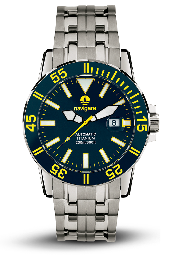 orologio NA107-02 collezione deep sea titanio automatic di navigare watches