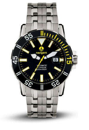 orologio NA107 collezione deep sea titanio automatic di navigare watches